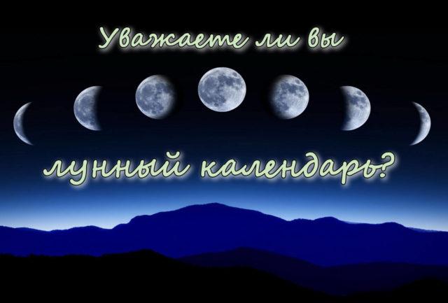 Особенности лунного календаря огородника