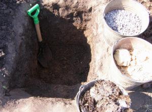 Глубина и подготовка ямы для сливы